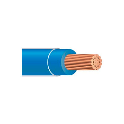 Southwire 22976501 Thhn 10 Gauge Building Wire, Stranded Type, Blue, 500 Ft - Pkg Qty 2