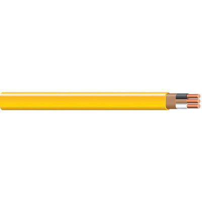 Southwire 28828228 Romex SIMpull ® Cable With Ground, Yellow, 12/2 Awg, 100 Ft