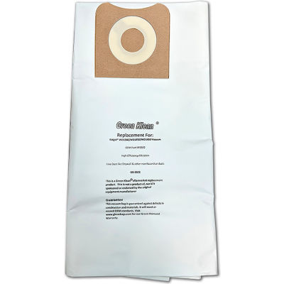 Ridgid High Efficiency Paper- Dry Pick-Up Wd1450/1850/1950 Replacement Vacuum Bag