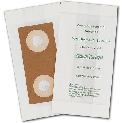 Advance Advolution Passive Dust Bag - 20 & 24 Burnishers - 10(10 Packs)/Case