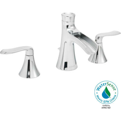 "Speakman Caspian® SB-1221-E 8"" Widespread Two Handle Bathroom Faucet, EPA WaterSense, Chrome"