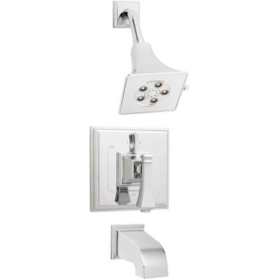 Speakman SM-8430-P Rainier™ Pressure Balance Valve & Trim Shower Combination & Tub Spout