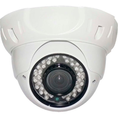 COP Security 3 AXIS IR Dome Camera, INS-D3671, 3 Axis, 3.6mm Lens