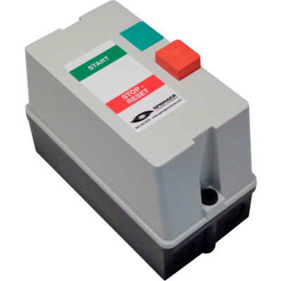 Springer Controls, JC3206P1B-UV, Enclosed AC Motor Starter, 3-Phase, 20.0 HP, 460V