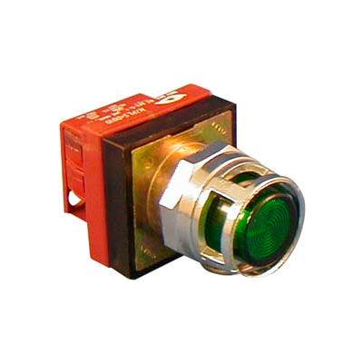 Item # N7PLMIDD10, N7 (30 mm) Illuminated Standard Push Buttons - Momentary Operation