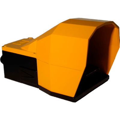 Tecno Elettrica Ravasi (T.E.R.), PF54617100 Foot-Switch, Standard Aluminum Cover, 2 N.O. + 2 N.C.