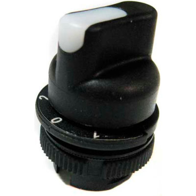T.E.R., PRSL1858BI Transparent 1/0/2 Maint. Position Selector Switch, Use w/ MIKE & VICTOR Pendants
