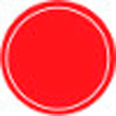 T.E.R., PRTA002MPI Red Stop Button Insert, Use w/ MIKE & VICTOR Pendants