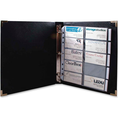 Anglers® 3-Ring Business Card Binder