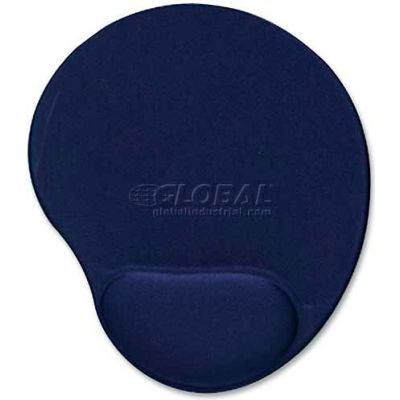Compucessory 45162 Gel Mouse Pad, Blue