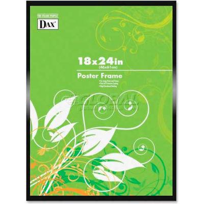 "DAX Metal Poster Frames, DAXN1894W1T, 24"" x 18"", Black Frame, 1 Each"