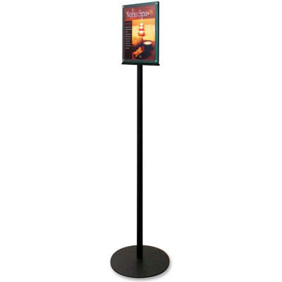 """Deflect-o Sign Holder, DEF692056, Double-sided Stand, 13""""W x 56""""H x 13""""D"""