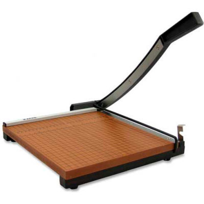 """X-ACTO® Commercial Grade Square Guillotine Paper Trimmer, 15"""" Cutting Length, Brown"""