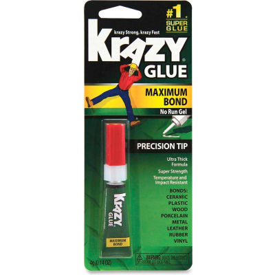 Elmer's Advanced Krazy Glue Gel, Maximum Bond, 4g Tube