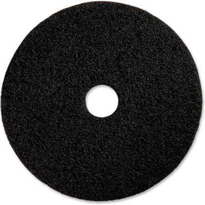 "Genuine Joe® 20"" Stripping Pad, Black, 5 Per Case"