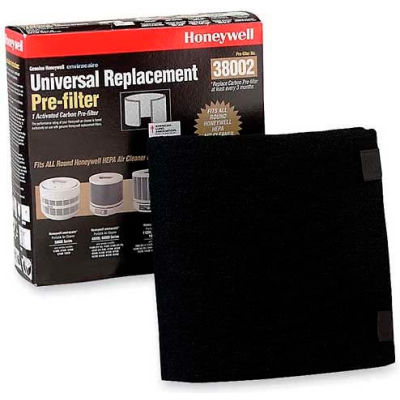 """Honeywell HWLHRFAP1 Universal Carbon HEPA Airflow Systems Filter, 8.3""""W x 8.4""""H, Plastic"""
