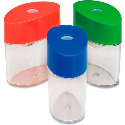 "Integra™ Plastic Sharpener, Oval, 2-1/8"", Assorted"