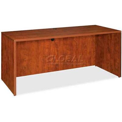 "Lorell® Credenza Shell - 60""W x 24""D x 29-1/2""H - Cherry - Essentials Series"
