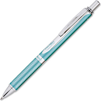Pentel® Gel Pen, Aquamarine Ink, Aqua Marine Barrel, 1 Each