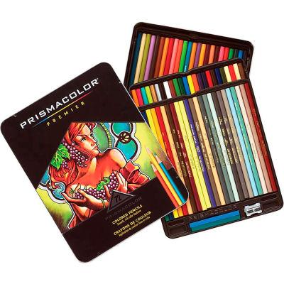 Prismacolor Prisma Colored Pencil, Assorted Lead, 72/Set