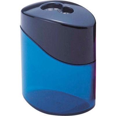Staedtler® Pencil Sharpener, 2 Hole, Oval, Blue/Aqua/Pink