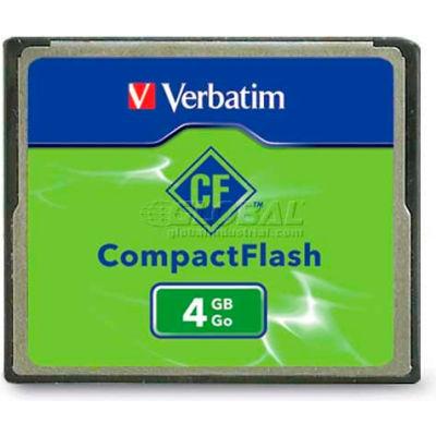 Verbatim® 95188 CompactFlash Memory Card, 4 GB, Black