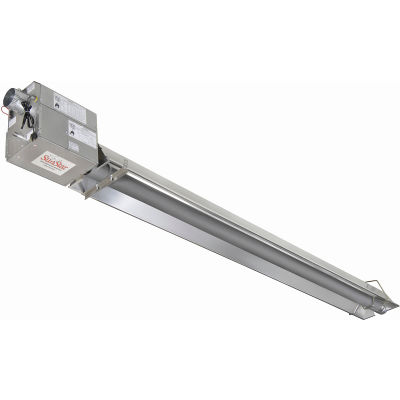 SunStar Natural Gas Infrared Heater Straight Tube Positive Pressure - SPS125-50-N5 - 125000 BTU
