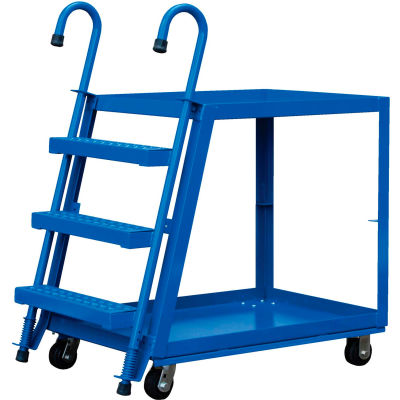 3 Shelf Steel Stockpicker Truck SPS3-2236