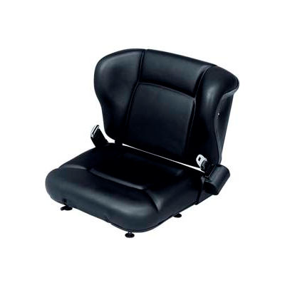 """Vinyl Forklift Seat with Switch SY1695 - 21""""W x 23-1/2""""D x 18""""H"""