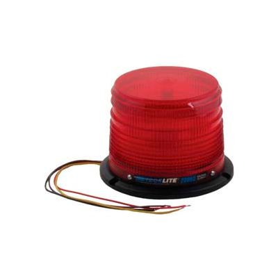 Meteorlite™ 22050 Low-Profile Strobe Light SY22050L-R - 12-48 Volts - Permanent Mount - Red