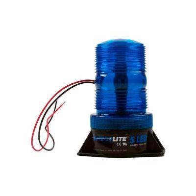 Meteorlite™ 5 High-Profile Strobe Light SY361005-B-LED - 12-80 Volts - Permanent Mount - Blue