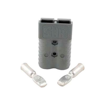 SMH SY Connector SY6320G1 - 2/0 Wire Gauge - 350 Amp - Gray