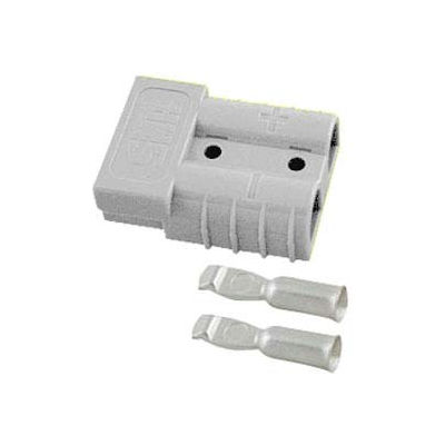 SMH SY Connector SY6330G2 - 2 Wire Gauge - 120 Amp - Gray
