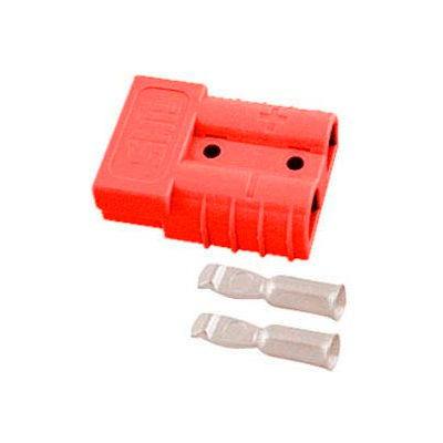 SMH SY Connector SY6331G1 - 6 Wire Gauge - 50 Amp - Red