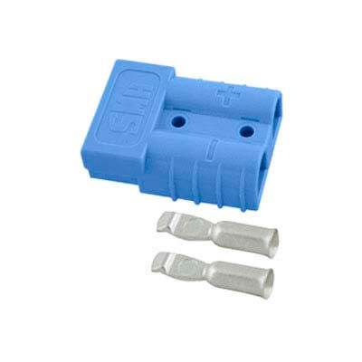 SMH SY Connector SY6331G5 - 6 Wire Gauge - 50 Amp - Blue