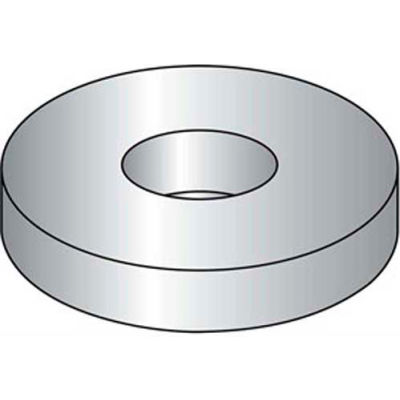 M5 X 10mm Flat Washer - 18-8 Stainless Steel A2 - DIN125-1A - Pkg of 100