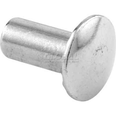 "Unslotted Barrel Nut, #8-32 x 1/2"", Stainless Steel - 100/Pack - 642-0469"