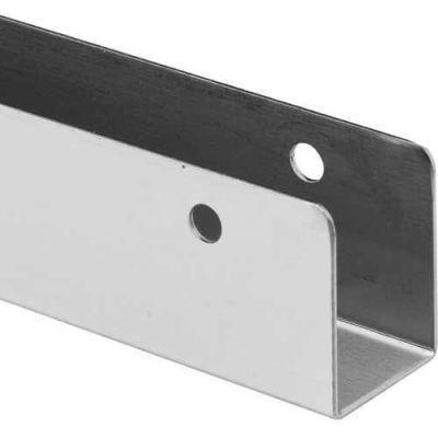 """U Bracket 1"""" x 57"""", 18 Ga. St. Stainless Steel - 650-1524"""