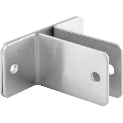 "2 Ear Wall Bracket, 1/2"" X 2-1/2""L X 1-1/2""H X 3-3/16""B, St. Stainless Steel - 650-8133 - Pkg Qty 4"