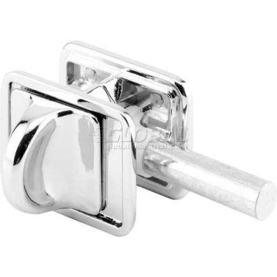 Concealed Slide Latch, W/Fasteners, Chrome - 656-6797 - Pkg Qty 2