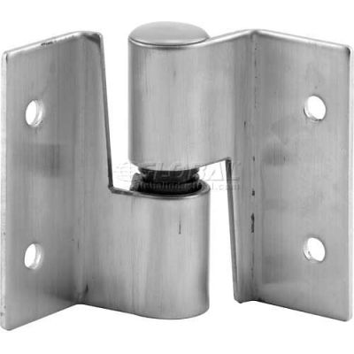 Surface Mounted Hinge Set, LH-In/RH-Out, W/Fasteners, Stainless Steel - 656-8056