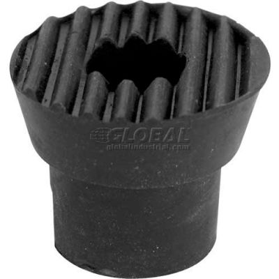 Door Holder Tip, W/Screw, Black - Package Qty 10 - 658-1051