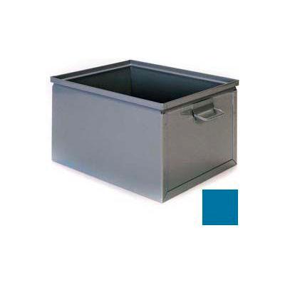 """Stackbin® Steel Bin 1-6SX - 18""""W x 30""""D x 12""""H Stackbox, Blue"""