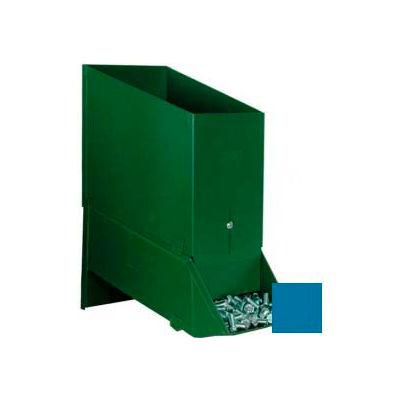 """Stackbin® 6-1/2""""W x 12""""D x 12-1/2""""H Steel Assembly Bin With Hopper, Blue"""