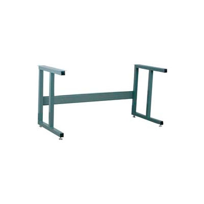 """Stackbin 4-52000-GY 2000 Series Fixed Height Ergonomic Frame, 53""""W X 27""""D X 30-1/4""""H, Gray"""