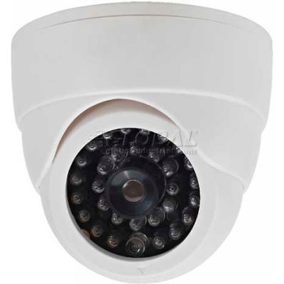 COP Security Dummy Camera 15-CDM07, With Battery Operated LED Light