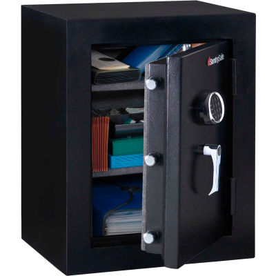 "SentrySafe Executive Fire-Safe EF3428E - Electronic Lock, 21-11/16""W x 19""D x 27-3/4""H, Black"