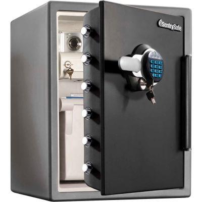 "SentrySafe Fire Safe® SFW205GRC Electronic Lock 18-5/8""W x 19-5/16""D x 23-13/16""H Black/Gray"