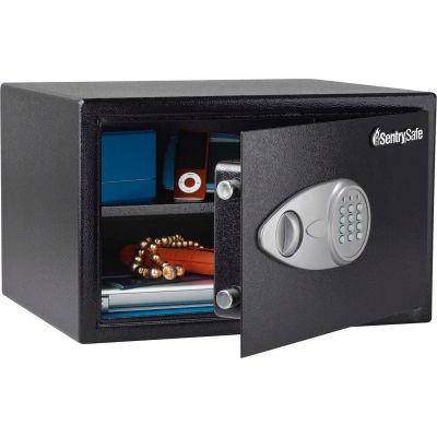 "SentrySafe Security Safe X125 - 16-7/8""W x 14-5/8""D x 10-5/8""H, Black"