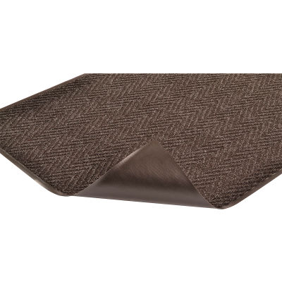 "NoTrax® Chevron #105-Indoor Entrance Mat, 5/16"" Thick, 3'x5', Charcoal"
